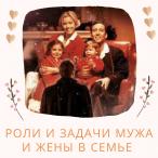 147 - Роли и задачи мужа и жены в семье.
